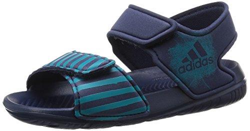 adidas Kinder Badeschuhe AltaSwim I midnight grey f15/lab green f12/midnight grey f15 25