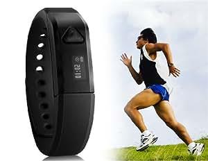 Vidonn X5 IP67 Bluetooth V4.0 Smart Wristband Bracelet with Sports & Sleep Tracking (Black)(shipping from china)