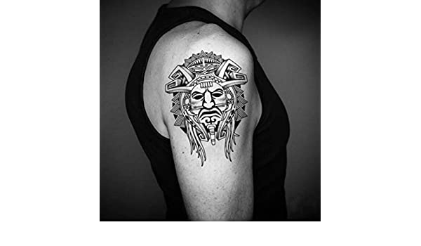 Tatuaje Temporal de Apocalypto Maya (2 Piezas) - www.ohmytat.com ...