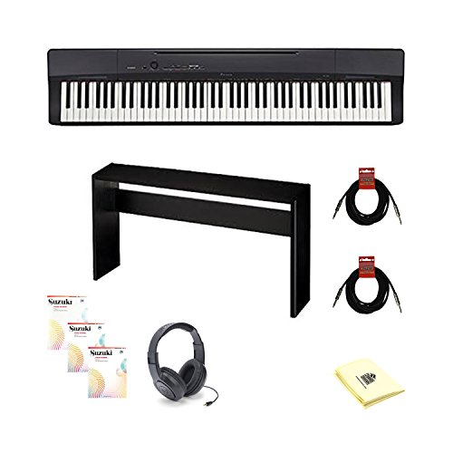 Casio Privia PX-160 STANDARD  Digital Piano Standard TMS Bundle- Black -  PX160BK