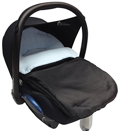 Car Seat Footmuff/Cosy Toes Compatible with All Car Seats Light Blue: Amazon.co.uk: Baby