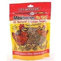 Mealworm To Go Hen-Tastic Chicken Supplement Bag Size: 3.5 oz