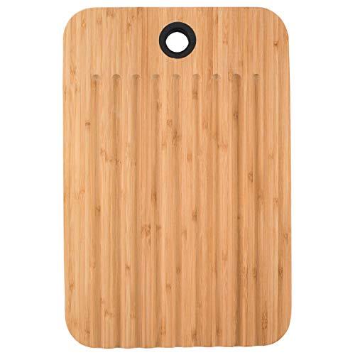(Sambonet 1304716 Bamboo Dual-Use Chopping Board with Hanging Hook, 36 cm x 24 cm)