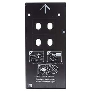 Amazon.com: Bandeja Tarjeta de PVC de inyección de tinta ...
