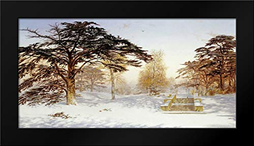 Untrodden Snow Within Three Miles of Charing Cross Framed Art Print by McCallum, Andrew