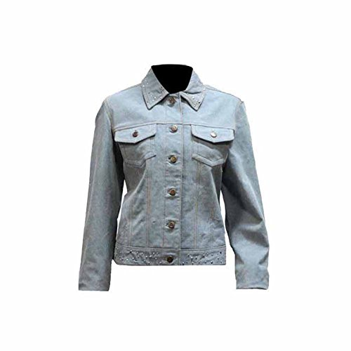 Leather Jackets For Women With Studs - 8