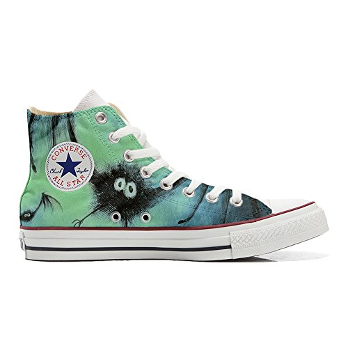Chaussures Converse All Star Custom High (chaussures Artisanales) Bat