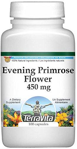 Evening Primrose Flower - 450 mg (100 Capsules, ZIN: 511395) - 3 Pack
