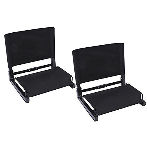 Ohuhu Stadium Chairs /Stadium Seats, 2 Pack