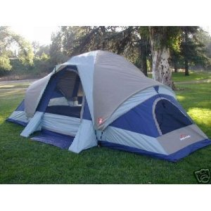 Suisse Sport Wyoming 3 Room Family Dome Tent 18 x 10  sc 1 st  Amazon.com & Amazon.com : Suisse Sport Wyoming 3 Room Family Dome Tent 18 x 10 ...