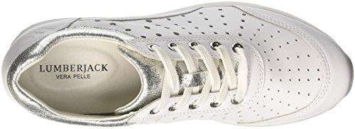 Donna Bianco Lumberjack Sneaker Domino Domino Sneaker Bianco Lumberjack Donna Donna Lumberjack Sneaker Domino 6xWAFwqw1P