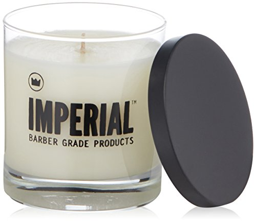 Imperial Barber Scented Candle, Cedarwood & Amber, 3.6 oz.