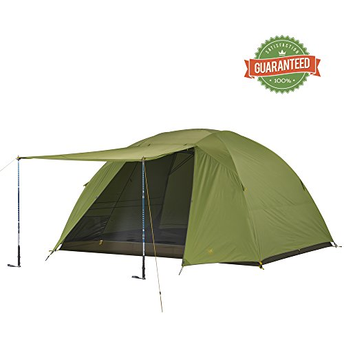 Daybreak 6 Person Deluxe, Easy To Set Up Camping Tent by Slumberjack