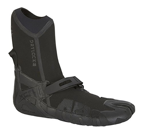 (Xcel Drylock 3mm Split Toe Boot Fall 2017, Black,)