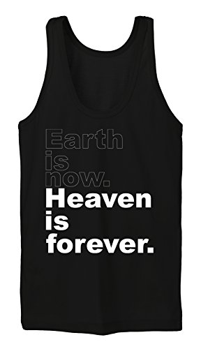 Earth Is Now Heaven Is Forever Tanktop Girls Black