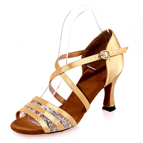 Chaussures IntéRieure Couleur FéMinine De L Boucle Grande Flash Taille De Multi éPissage Personnalisé Mousseline êTre YC Danse Latine gold Soie En Peut 745pxZqfwp