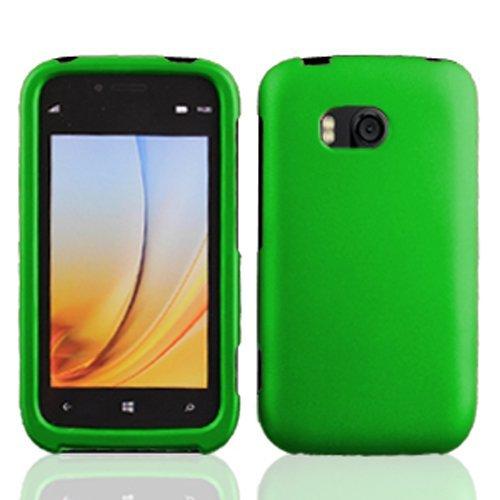 best service 3dff6 7b548 LF Green Hard Case Cover, Lf Stylus Pen & Wiper Bundle for Verizon Nokia  Lumia 822 (Hard Green)