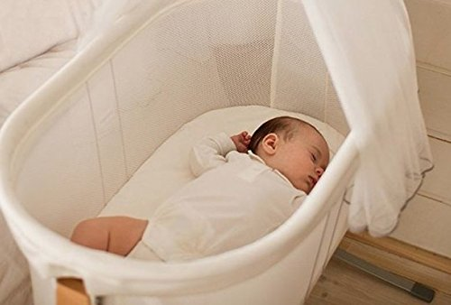 Made to fit BabyBjorn cradle Organic bamboo sheet Size 29'' x 14''- Hypoallergenic -Thermal regulating - Moisture Wicking