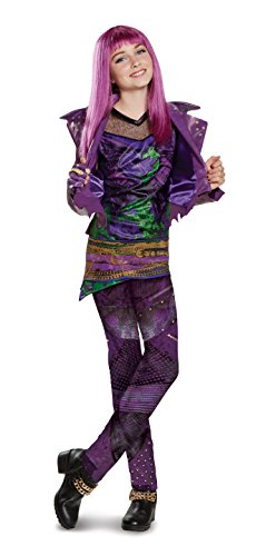Disney Mal Prestige Descendants 2 Costume, Purple, X-Large (14-16)