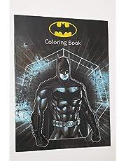 دفتر تلوين باتمان مع ملصقات (مفرد)