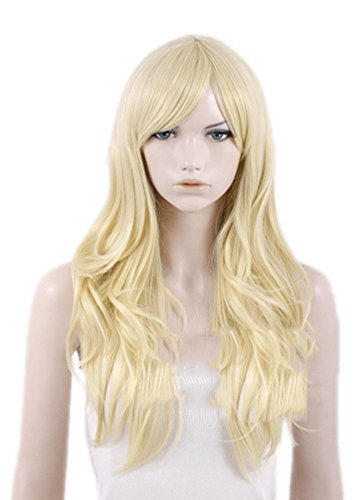 Emma Frost Wig Long Curly Cosplay Wig Hair Costume Accessories Xcoser ()