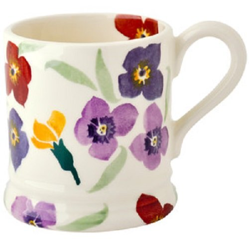 EMMA BRIDGEWATER POTTERY NEW HALF PINT MUG - - Mug Flowers Pint 1/2
