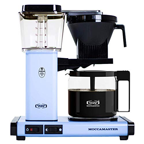 Technivorm Moccamaster 53952 KBG Sky Blue Coffee Brewer, 40 oz