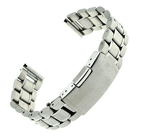 stainless steel 22mm watch band - 6