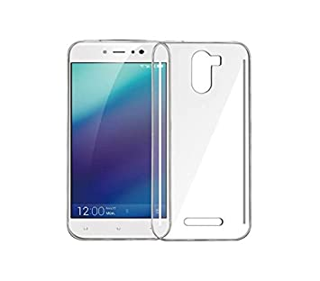 huge discount d4f69 4c3c1 Gionee A1 Lite Transparent Back Cover Soft Silicone: Amazon.in ...