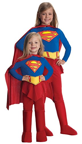 Supergirl Child Halloween Costume Size 4-6 Small