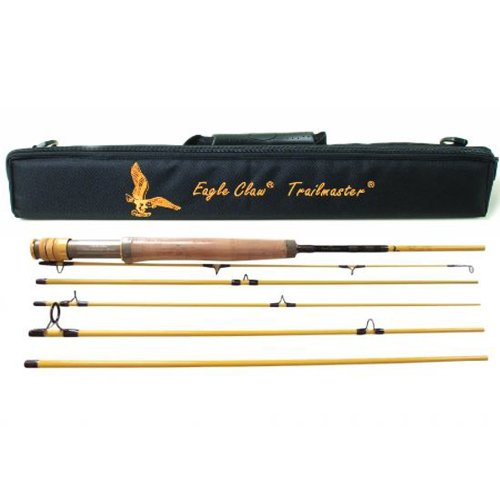 Eagle Claw Trailmaster Medium Fly Rod (6 Piece)