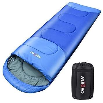 Sacos de Dormir, 1800g Saco de Dormir Cálido Rectangular Contiene Bolsa de Compresión, para Acampar en Clima Frío y Senderismo (220 x 80 cm): Amazon.es: ...