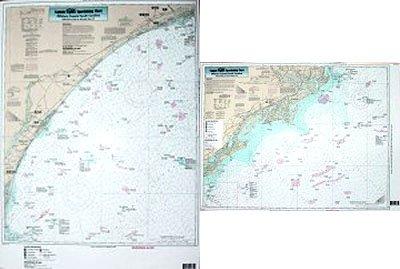 (Nearshore Winyah Bay, SC - Laminated Nautical Navigation & Fishing Chart by Captain Segull's Nautical Sportfishing Charts   Chart # WIN28)