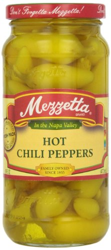 Mezzetta Hot Chili Peppers, 16 oz