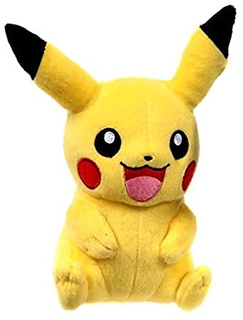 Tomy Usa Pokemon X Y Pikachu Sitting Two Hands Down 9 Plush