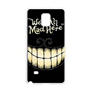 We Are All Mad Here Hot Seller Stylish Hard Case For Samsung Galaxy Note4