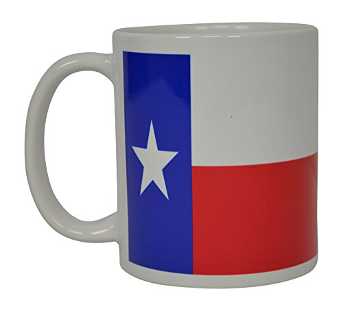 Best Coffee Mug Texas State Flag Novelty Cup Great Gift Idea For Men Women Lone Star State Cowboy