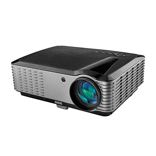 Bead Screen Projection Glass (Daqin Full HD 1080P Projector Home Intelligent HD Widescreen Office Projector Android Mobile Phone Wireless with The Screen (Color : Android Models))