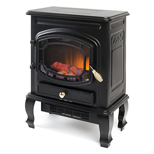 Best Price Garibaldi Heating 1500W 23-Inch Electric Stove Heater, Black