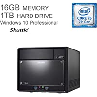 Shuttle XPC SH110R4 PC Desktop Computer - Intel i5-7400 Kabylake   1TB HDD   16GB DDR4 MEMORY   Windows 10 Pro   Wi-Fi