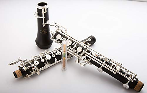 Glory Oboe C Key Cupronickel Plated Silver Woodwind Musical Instrument for -