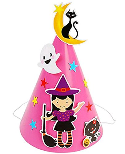 Halloween DIY Cartoon Cap Bat Pumpkin Ornament Hats Accessories Halloween Costume Party for Baby Kids Boys Girls (Baby Halloween Costumes Diy)