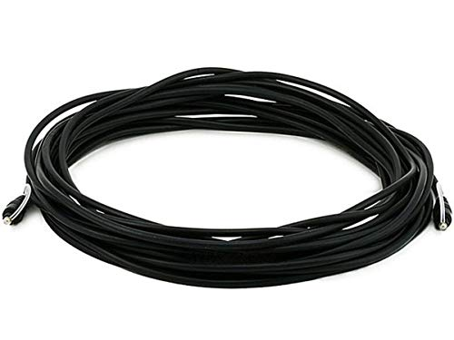 Monoprice 35ft Optical Toslink 5.0mm OD Audio Cable