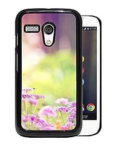 Dreamy Sunshine Bright Flower Bokeh Durable High Quality Motorola Moto G Phone Case