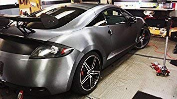 25ft x 5ft Gunmetal Dark Grey Brushed Metal Vinyl Wrap Roll with VViViD XPO Air Release Technology