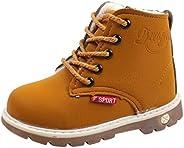 Baby Boys Girls Premium Anti-slip Martin Shoes for 1-6 Years old Little Kids Toddler Stylish Waterproof Sneake
