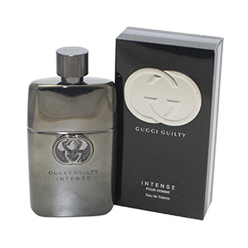 Gucci Guilty Intense Eau De Toilette Spray for Men, 3 Ounce