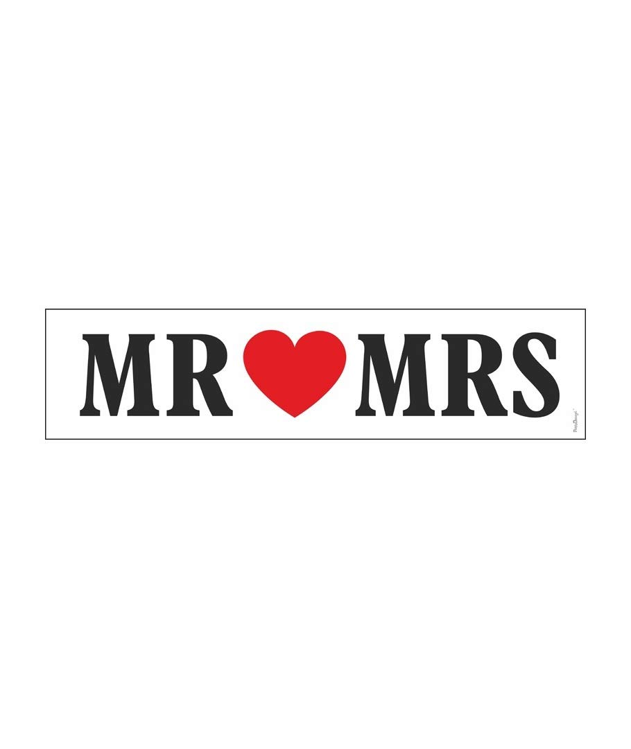 Cartel Photocall/Matrícula para coche Mrs Mrs - Ideal para ...