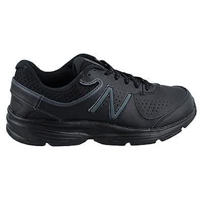 New Balance Women's, 411v2 Walking Sneaker Black 9 B