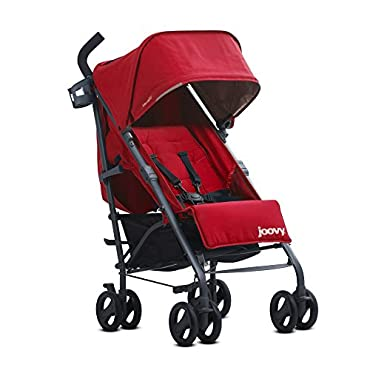 JOOVY New Groove Ultralight Umbrella Stroller, Red